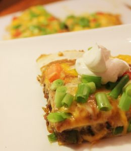 Mexican Pizza with Sausage-Creole Contessa