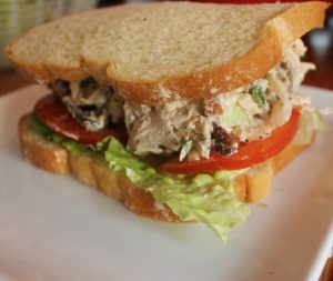 Creole Fried Turkey Salad Sandwich-Creole Contessa