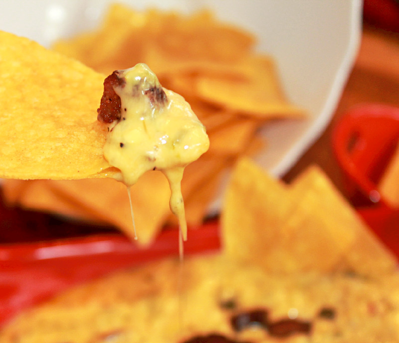 Chile Con Queso with Andouille Sausage
