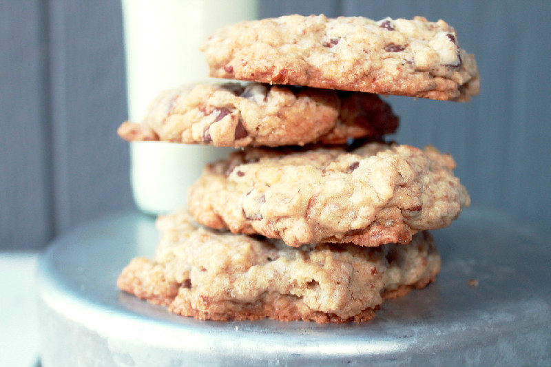 Pecan Toffee Chocolate Chip Cookies
