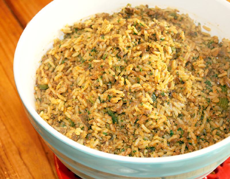 have eaten dirty rice or as we call it Rice Dressing since I was a ...