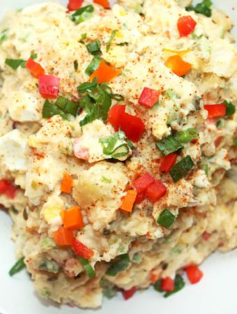 Creole Potato Salad with Hellmann's Mayonnaise
