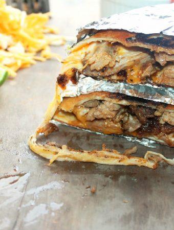 Smoked Carnitas Chimichangas