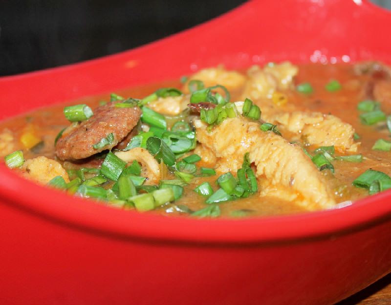 Creole Chicken and Sausage