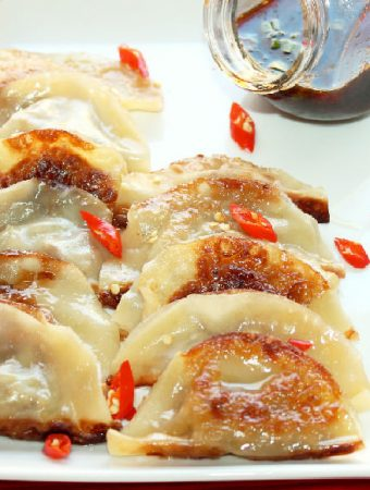 Pot Stickers Creole Style