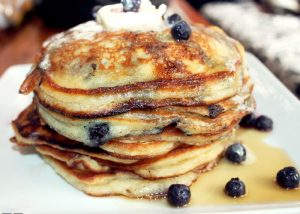 Blueberry Pancakes-Creole Contessa