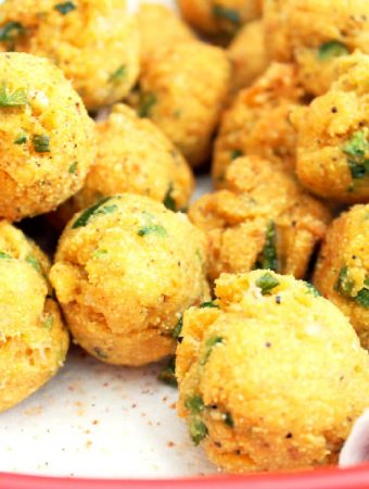 Creole Hush Puppies with Jalapenos