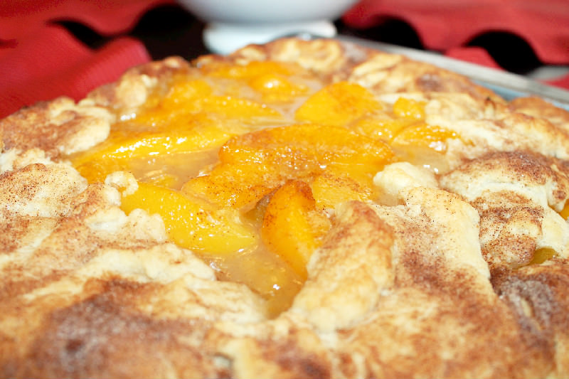 Peach Cobbler Galette Cajun Week Day 7