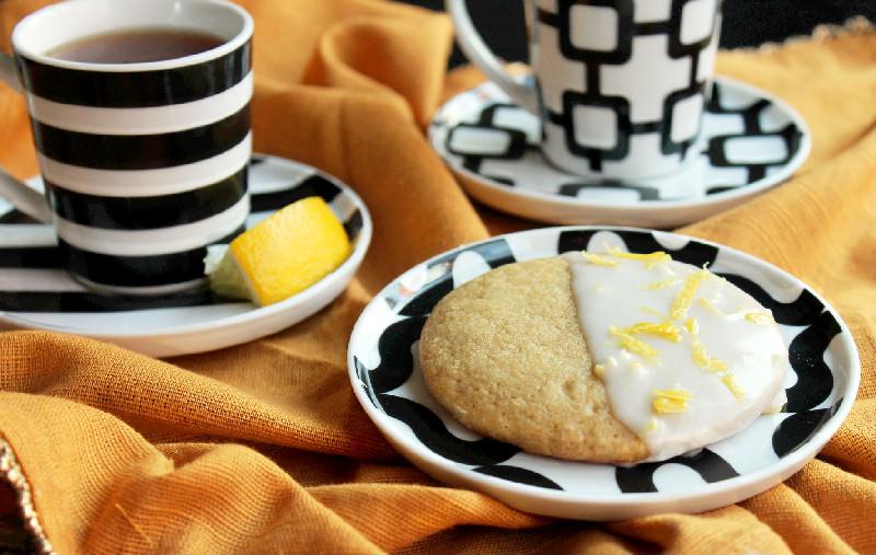 Lemon Glazed Southern Tea Cakes-Creole Contessa