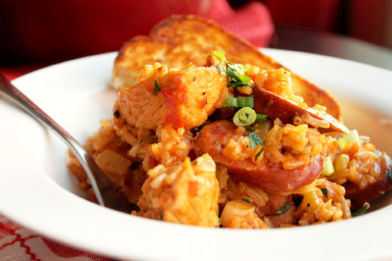 Creole Chicken and Sausage Jambalaya - Creole Contessa