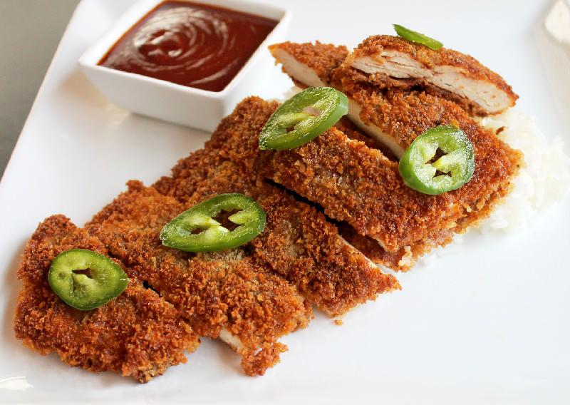 Chicken Katsu with Jalapenos-Creole Contessa