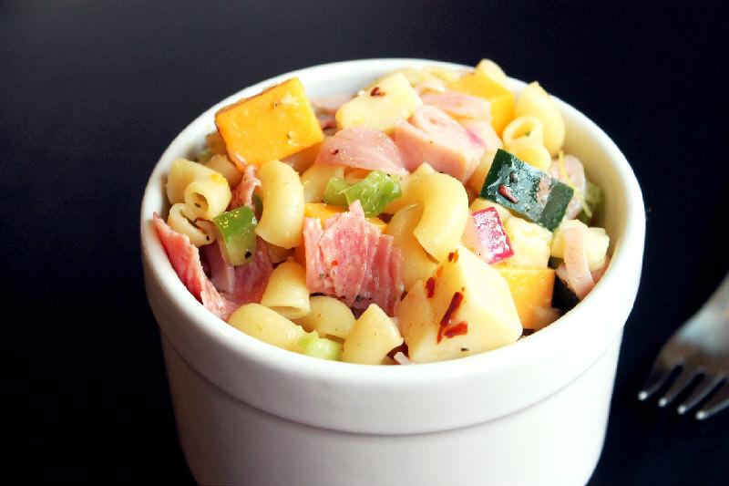 Italian Sandwich Pasta Salad-Creole Contessa