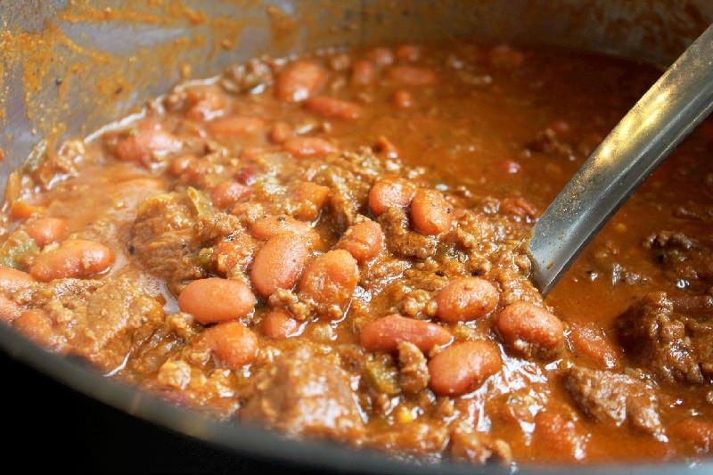 Steak Chili-Creole Contessa