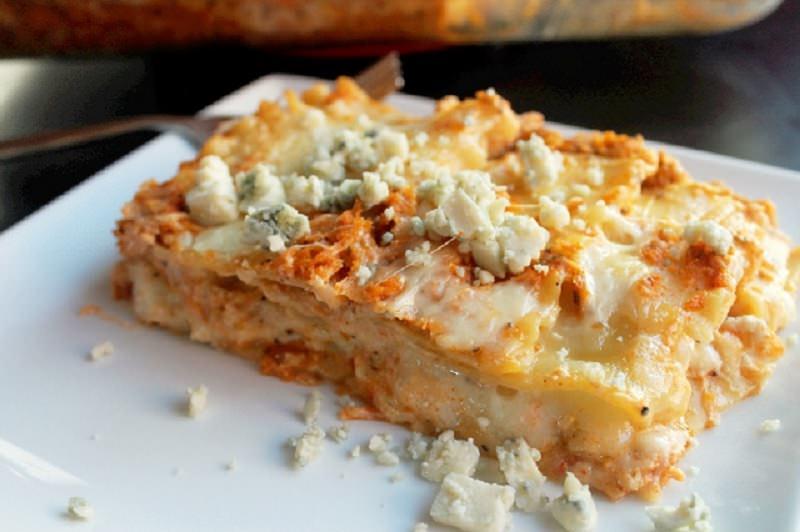 Hot Wing Chicken Lasagna-Creole Contessa