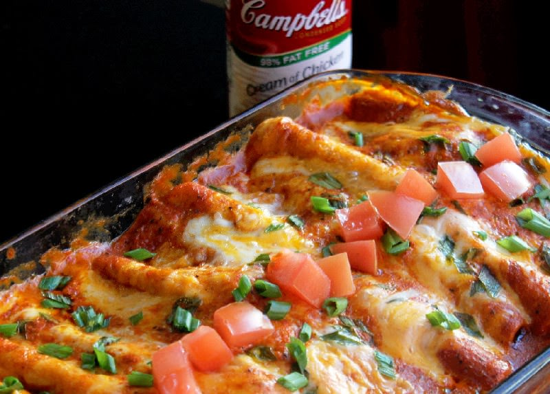 Easy Chicken and Cheese Enchiladas-Creole Contessa