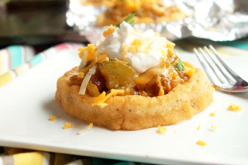 Cheesy Zucchini and Squash Stuffed Sopes-Creole Contessa