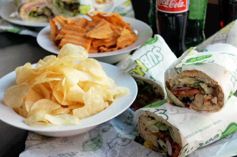 Subway Corporate Catering-Creole Contessa