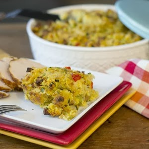 Cajun Cornbread Stuffing-Feed Your Soul Too