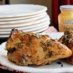 Roasted Honey Mustard Chicken