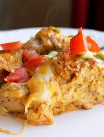 Buffalo Chicken Casserole Mexican Style