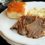 Slow Cooker Stuffed Pork Roast