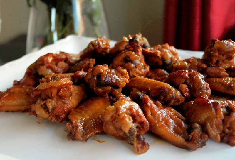 Slow Cooker Sweet and Tangy Chicken Wings - Creole Contessa