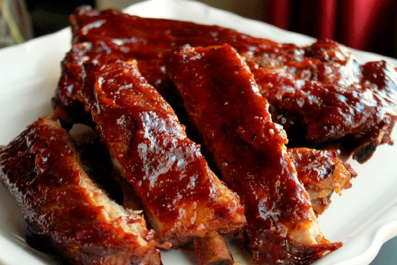 Slow Cooker Sticky Ribs - Creole Contessa
