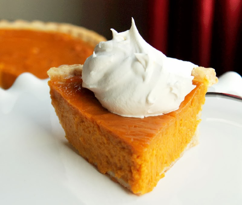 ... excited to have created a wonderful Sweet Potato Pie for the occasion