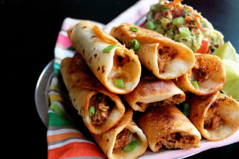 ... Chicken Flautas with Bacon Guacamole will become your new favorite