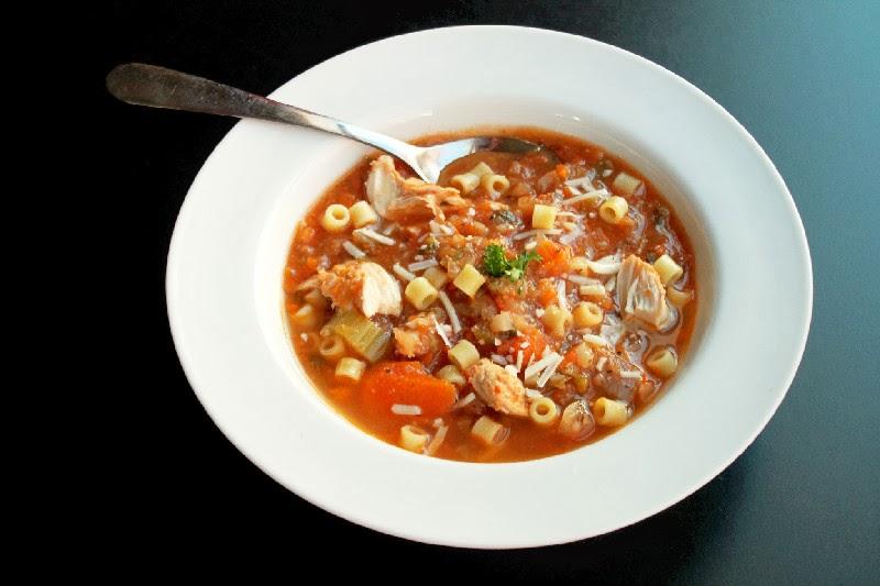 Italian Chicken Noodle SoupCreole Contessa