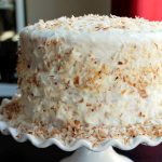 Toasted Coconut Pineapple Cake and a Vitamix Giveaway!