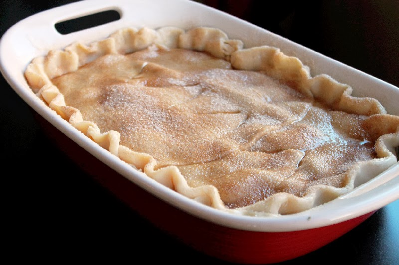 Rustic peach cobbler quick and easy creole contessa for Peach pie recipe with canned peaches