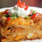 Easy Chicken Enchilada Casserole