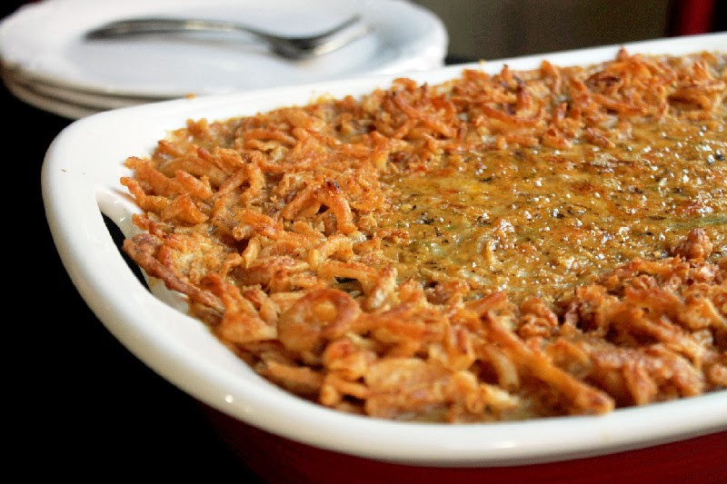 Green Bean Hash Brown Casserole-Creole Contessa