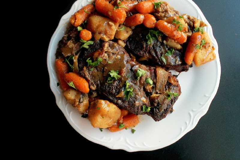 Slow Cooker Pot Roast and a Sucre King Cake Giveaway!