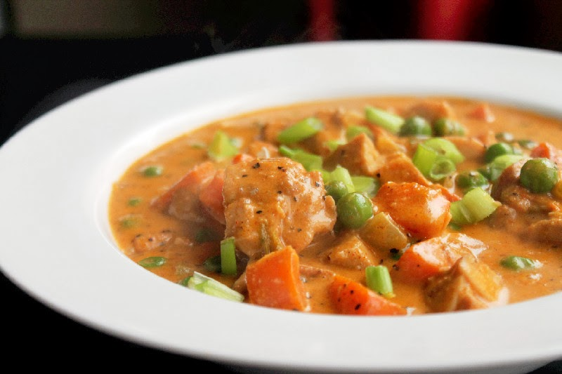 Roasted Chicken Soup Creole Style-Creole Contessa