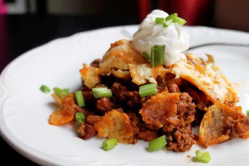 Oven Baked Frito Chili Pie-Creole Contessa