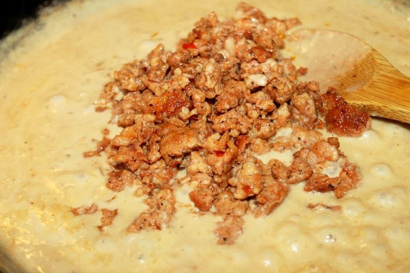 Sausage Gravy and Biscuits-Creole Contessa