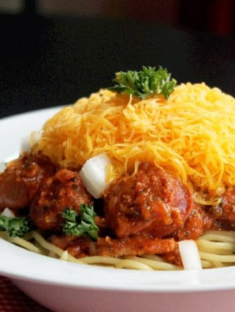 Slow Cooker Cincinnati Style Chili, My Way!