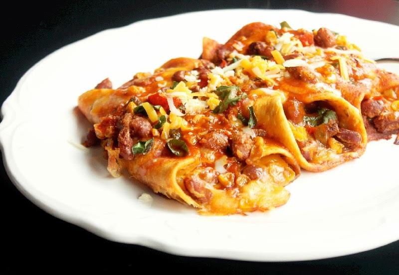 Baked Vegetable Enchiladas - Creole Contessa