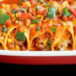 Baked Vegetable Enchiladas