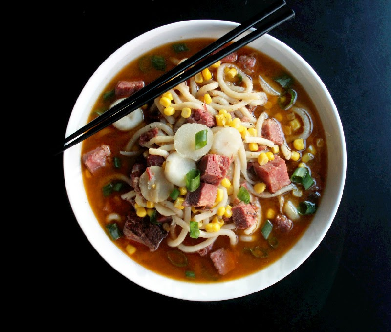 Brisket Udon Noodle Soup-Creole Contessa