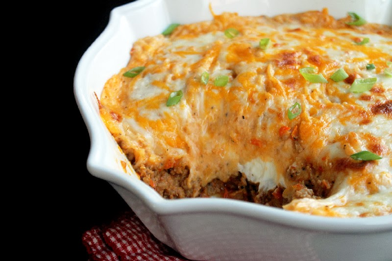 Cheesy Creole Shepherds Pie-Creole Contessa