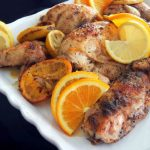 Baby Girl's Roasted Citrus Chicken