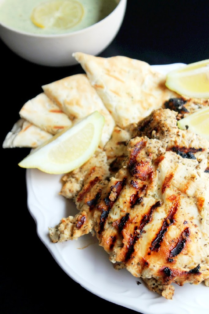 Grilled Greek Chicken Family Style-Creole Contessa