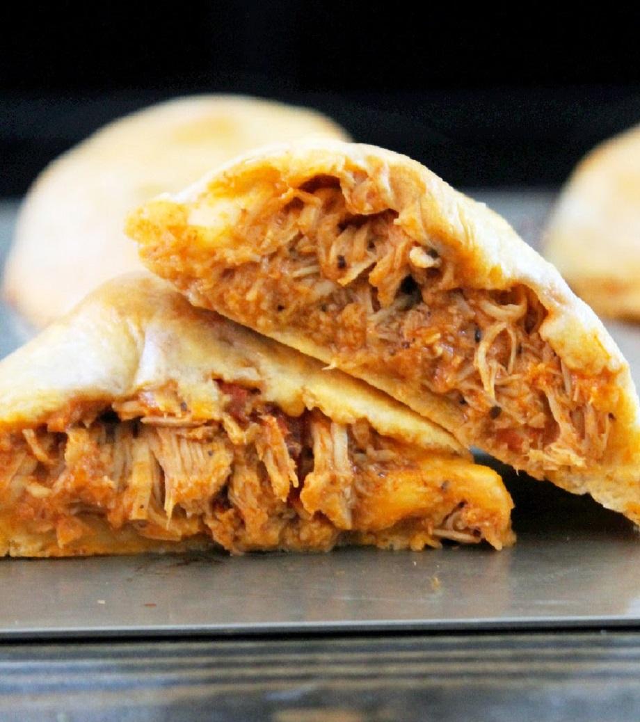 Buffalo Chicken Biscuit Empanadas, Easy & Quick-Creole Contessa