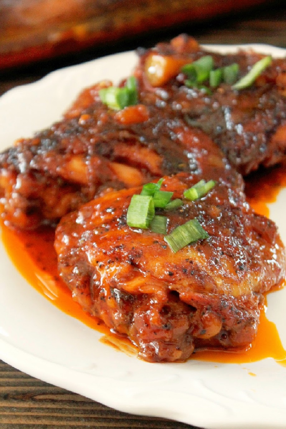 Sweet & Spicy Tamarind Ginger Roasted Chicken-Creole Contessa