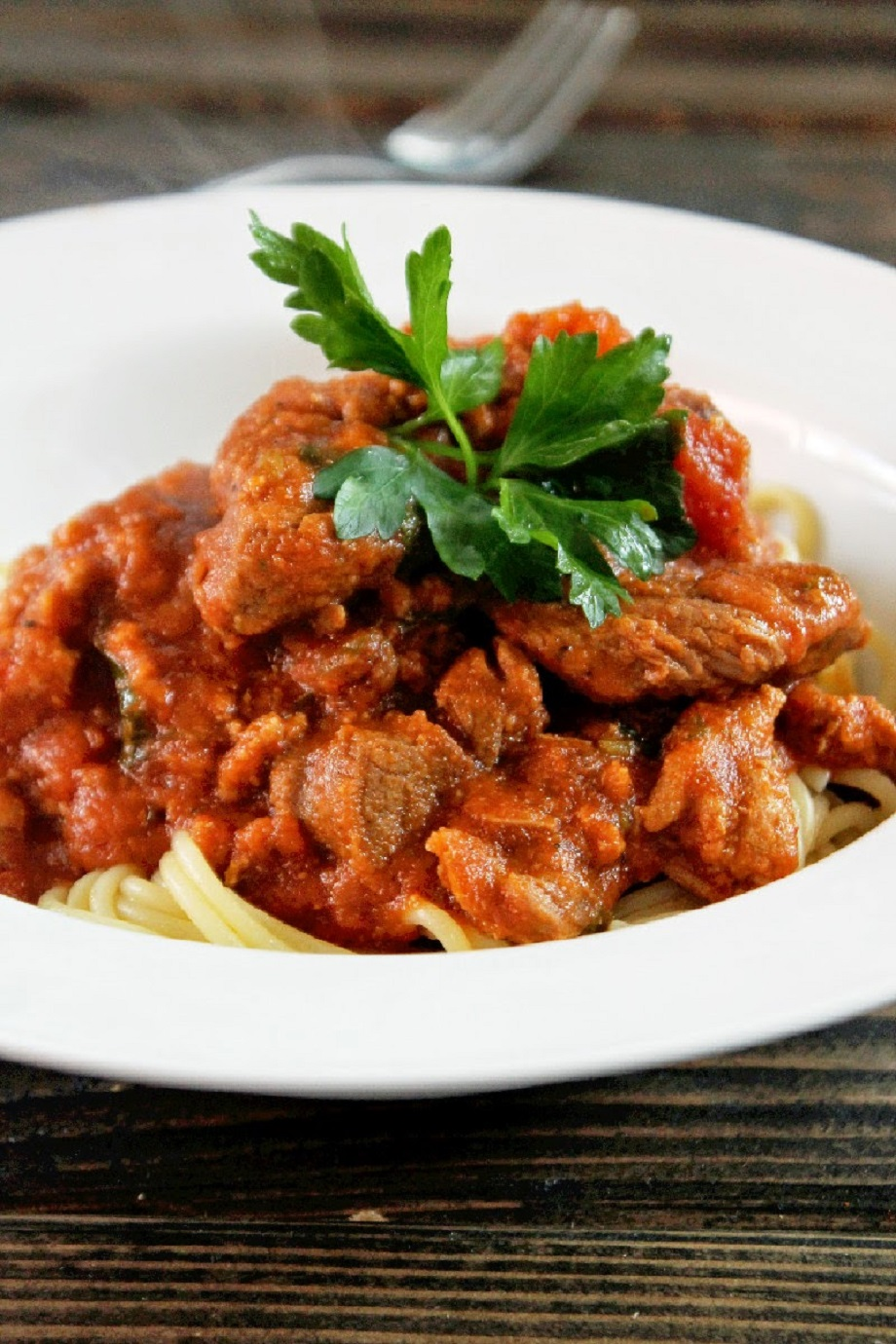 Meaty Slow Cooker Sunday Ragu with Roast