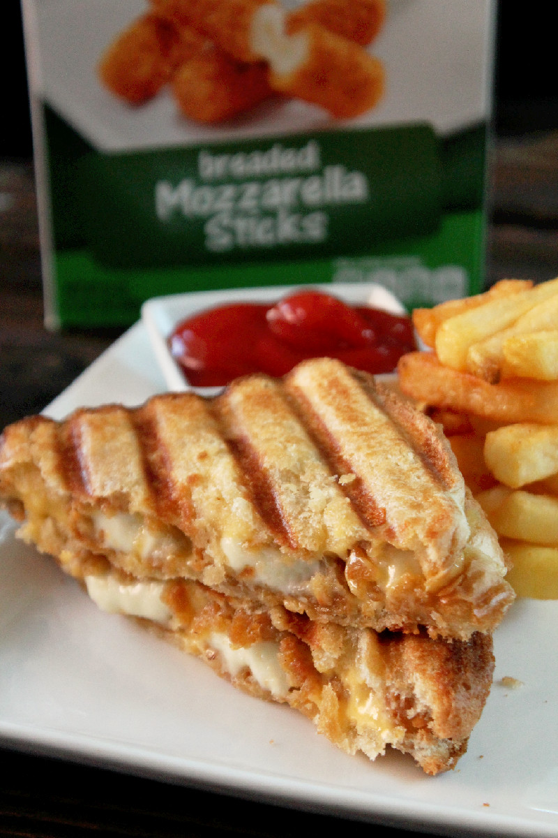 Lazy Gluten Free: Grilled Mozzarella Cheese Sandwiches |Grilled Cheese With Mozzarella Sticks