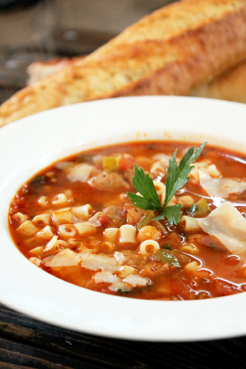 ... find that the salsa adds a wonderful flavor to the Pasta e Fagioli
